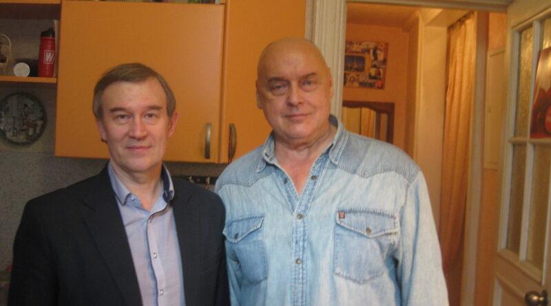 Председатель «Народного Собора» Олег Кассин и Заслуженный артист России Дмитрий Золотухин