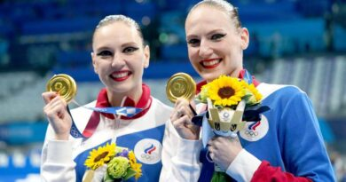 Российские синхронистки взяли золото в дуэтах на Олимпиаде в Токио